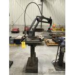 Flex Arm Bench/ Table/Pedestal Flex Arm 40.7 Nm Max Torque, 15lb. Capacity, 37'' Reach, 21''