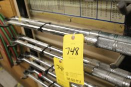 """(2) 1/2"""" DRIVE TORQUE WRENCHES"""