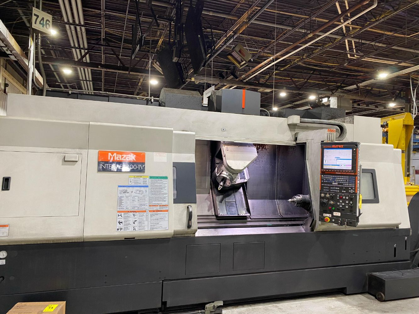Complete Late Model 5 Axis CNC Machine Shop and Grinding Facility  (NO ONSITE BIDDING)