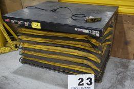 """AUTOQUIP SCISSOR LIFT, 8,000 LB CAP, 48"""" X 54"""" PLATFORM, 480V, PENDANT CTRL"""