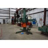 ARONSON MANIPULATOR, 2G6VRAGCL-PK W/ LINCOLN IDEAL ARC DC-1000 POWER SUPPLY & LINCOLN NA-3A