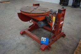 WELDWIRE WPT 30/6 WELDING POSITIONER, 3,000 LB CAP, W/ POWER TURN, POWER TILT