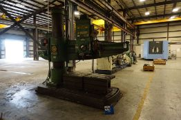 GIDDINGS & LEWIS RADIAL DRILL, MDL: 965