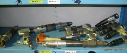 Pneumatic shear, drill guns and torque guns