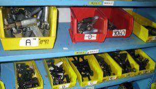 Pneumatic drills, off-set drill attachments
