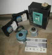 Control unit, reostat varriable controls plus misc items