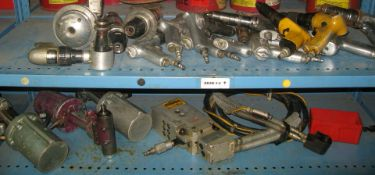 Pneumatic roller shear, drill guns, blind fatener pullers and various othe pneumatic tools