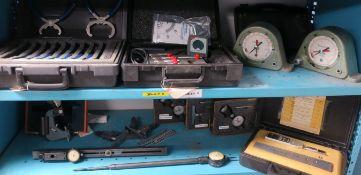 Hand tool set, torque calibration, precision measuring indicators