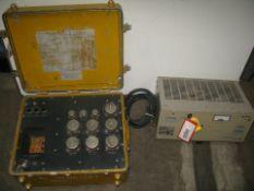 Loran high freaquency rectifier, Aircraft power distribution test unit