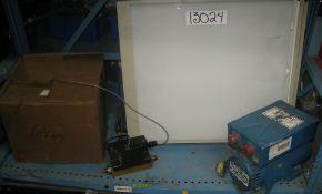 Raymond module flow sensor, Lelan inverter 28V/115V, X-ray viewer