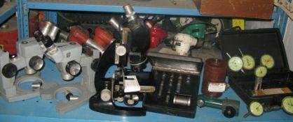 Micro scopes and precision equipment