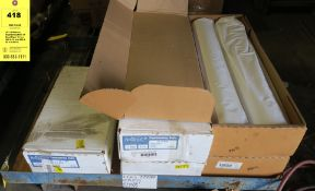 LOT of Alliance Engineering Rolls of Bond Paper 11 in x 500 ft, 18 in x 500 ft, 36 in x 500 ft