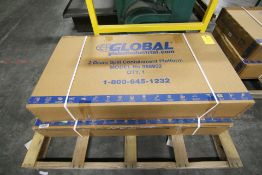 Lot of 2: NEW 2 Drum Spill Containment Platform Model 988952, Global Ind.