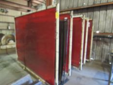 Lot: Welding Screens