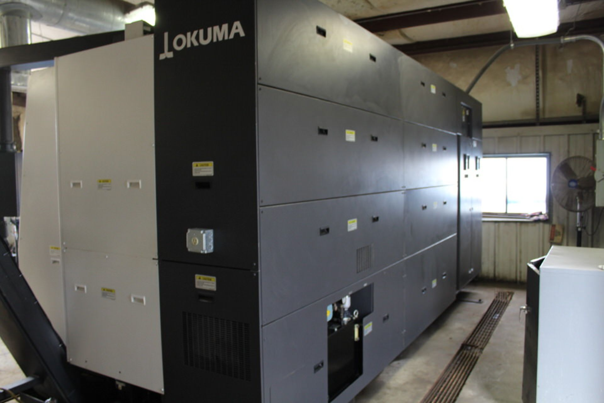 2018 OKUMA LU35II X 1500MM DUAL TURRET CNC LATHE - Image 8 of 12