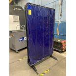 6' x 4' Tillman Welding Curtain (Blue)