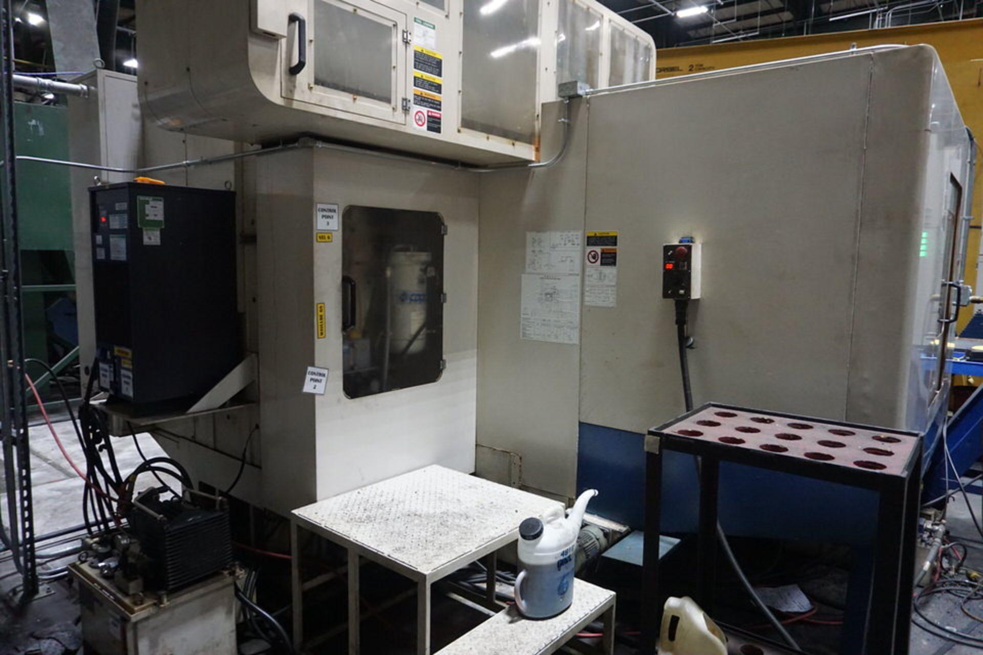 DAEWOO DMV8030S VERTICAL MACHINING CENTER (ASST#:P345105) - Image 3 of 10