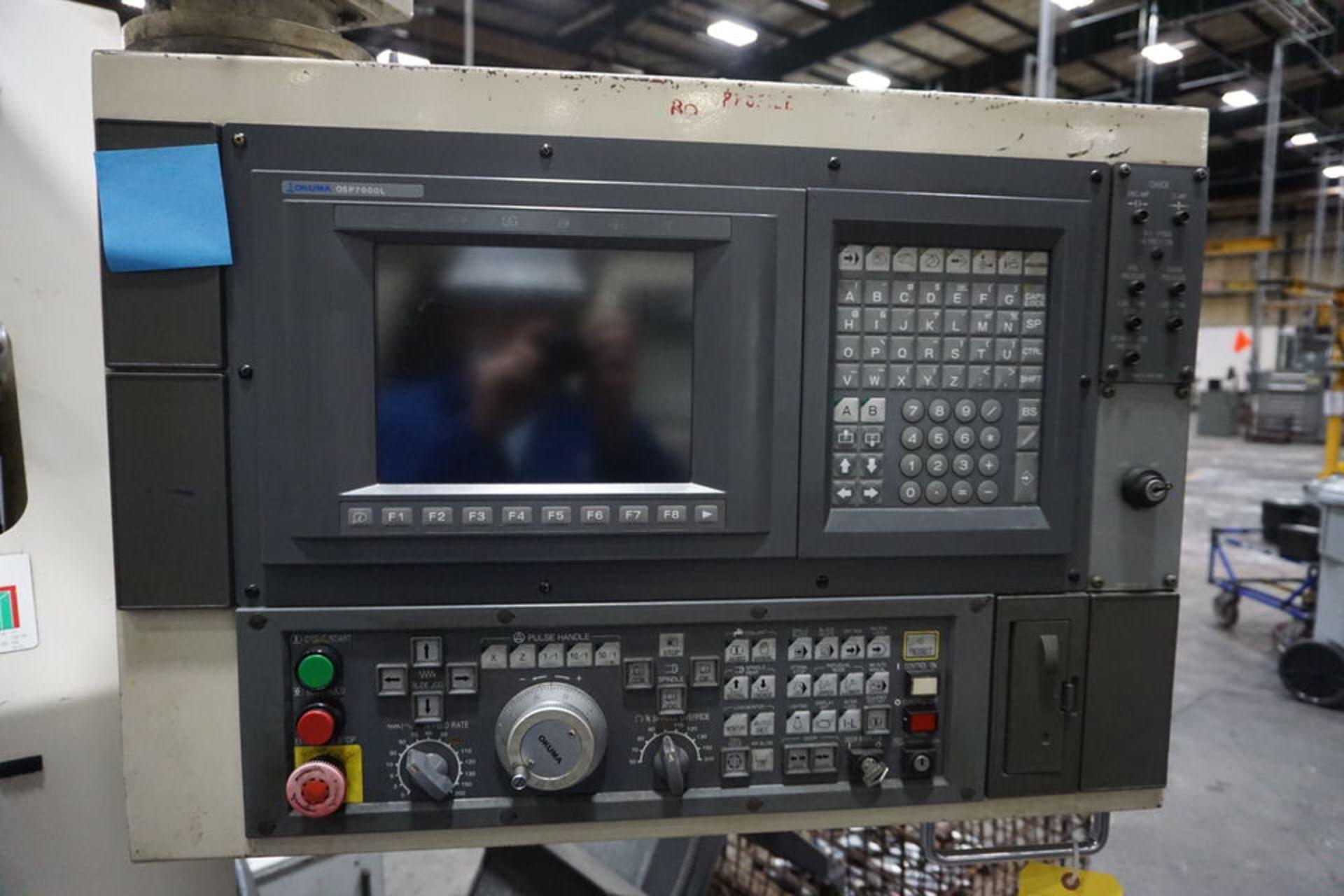 OKUMA LB35 CNC LATHE (PC0003255) - Image 4 of 8