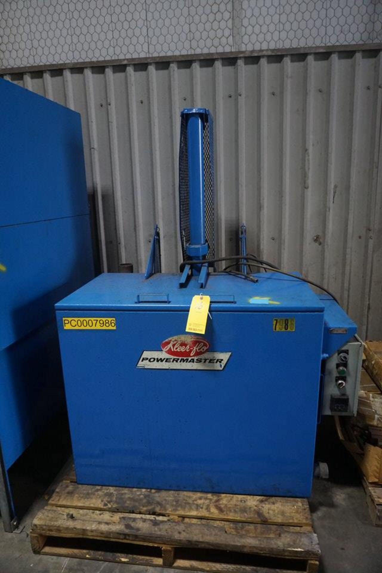 """KLEEN FLOW PARTS WASHER, 45"""" X 24"""" X 3' COMPARTMENT (ASST#: PC0007986)"""