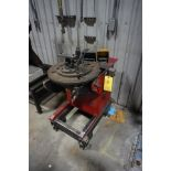 "RED-D-ARC WELDING POSITIONER, MDL: WP-500, 20"" TABLE"
