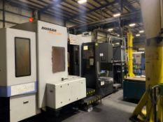 2008 DOOSAN HM630 CNC HORIZONTAL MACHINING CENTER (ASST#: P564108)