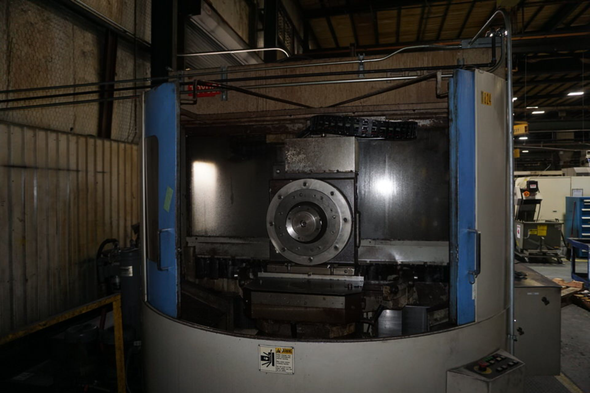 TOYODA FA630 HORIZONTAL MACHINING CENTER, DOM: 2003 (ASST#:P0150104) - Image 7 of 10