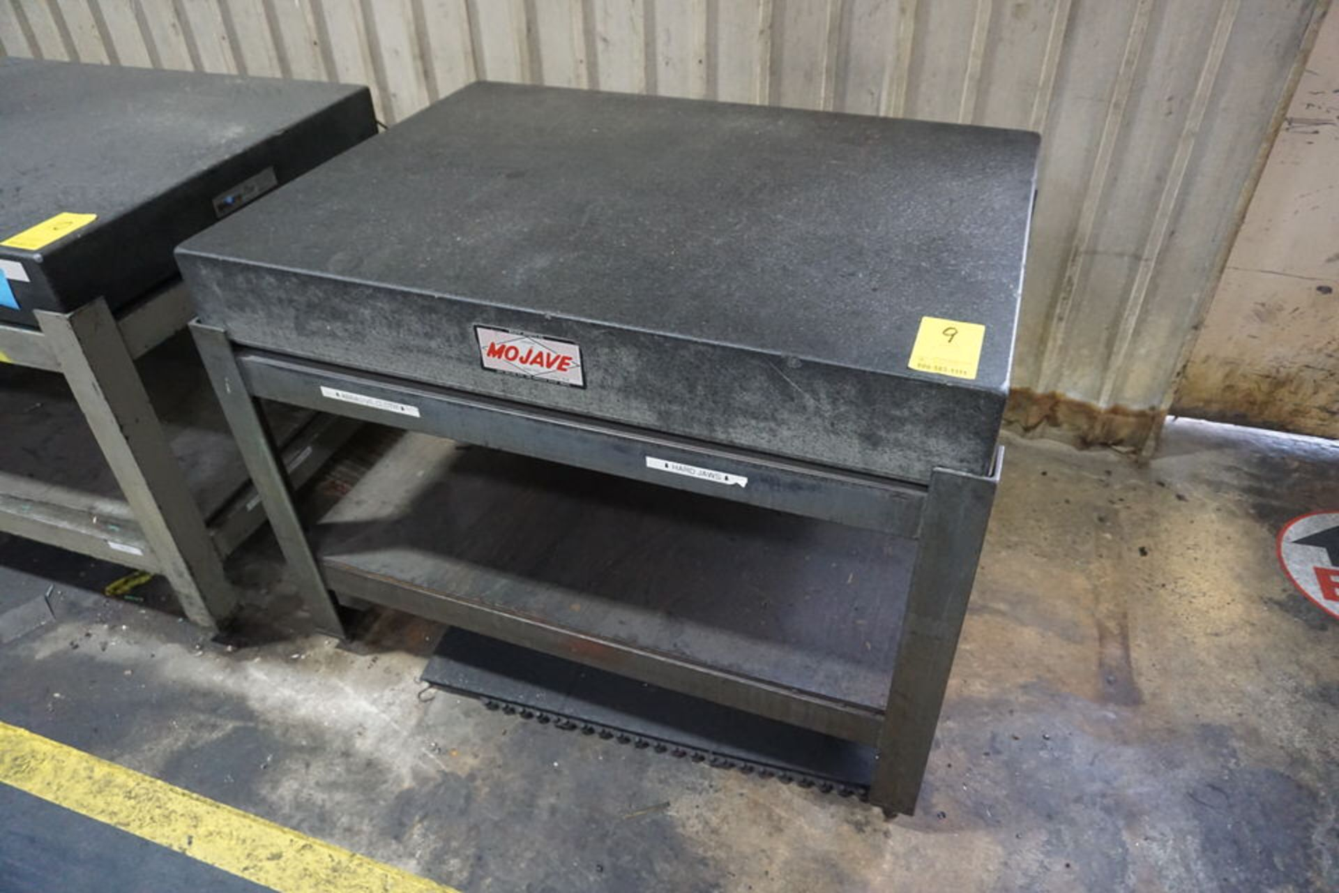 """3' X 4' X 6"""" GRANITE SURFACE TABLE W/ STAND"""