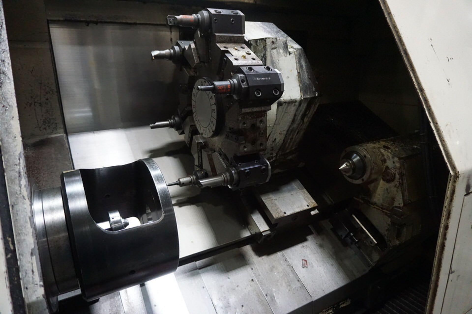 OKUMA LB35 CNC LATHE (PC0003255) - Image 7 of 8
