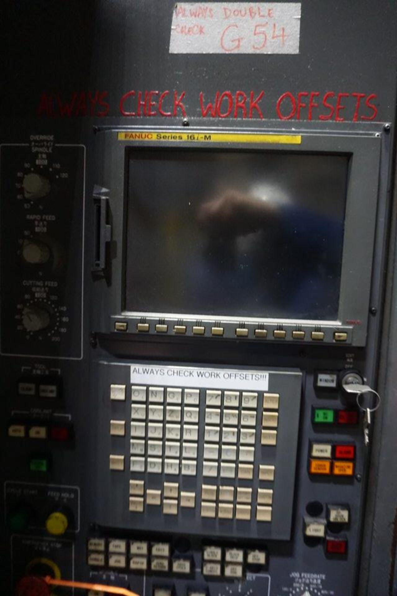 TOYODA FA630 HORIZONTAL MACHINING CENTER, DOM: 2003 (ASST#:P0150204) - Image 2 of 5
