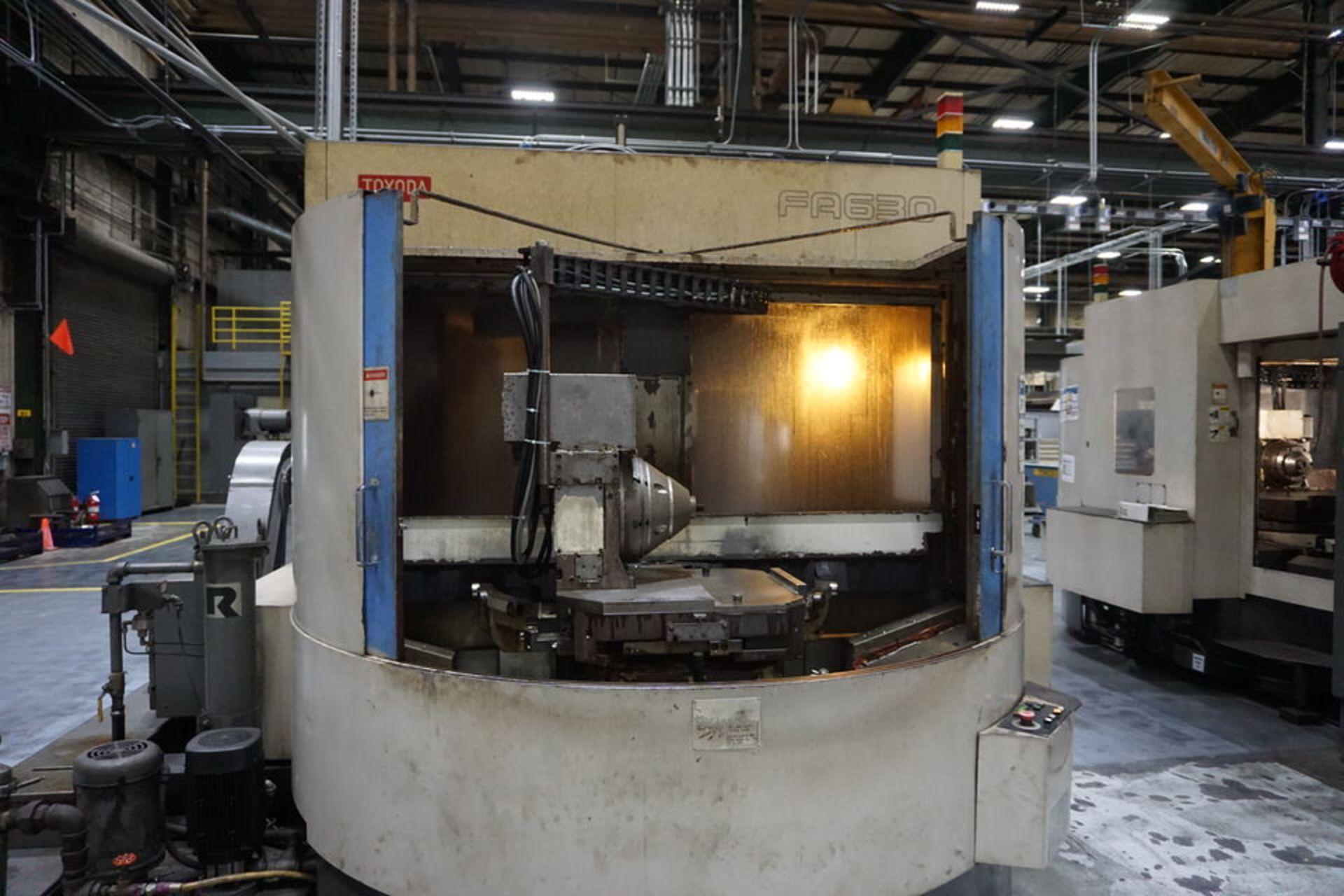TOYODA HORIZONTAL MILLING MACHINE, DOM:1998 (ASST#: P772100) - Image 3 of 9