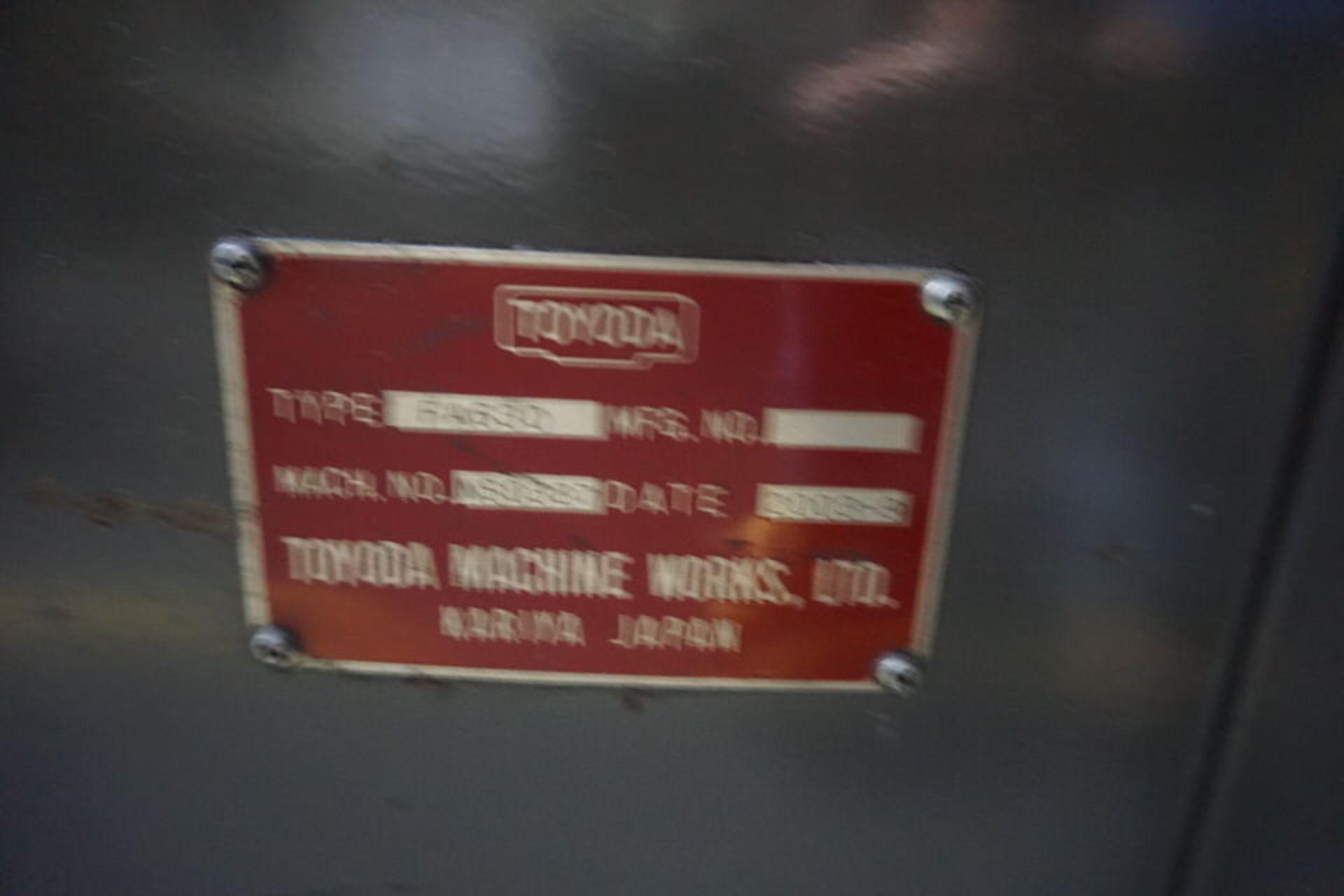 TOYODA FA630 HORIZONTAL MACHINING CENTER, DOM: 2003 (ASST#:P0150204) - Image 4 of 5