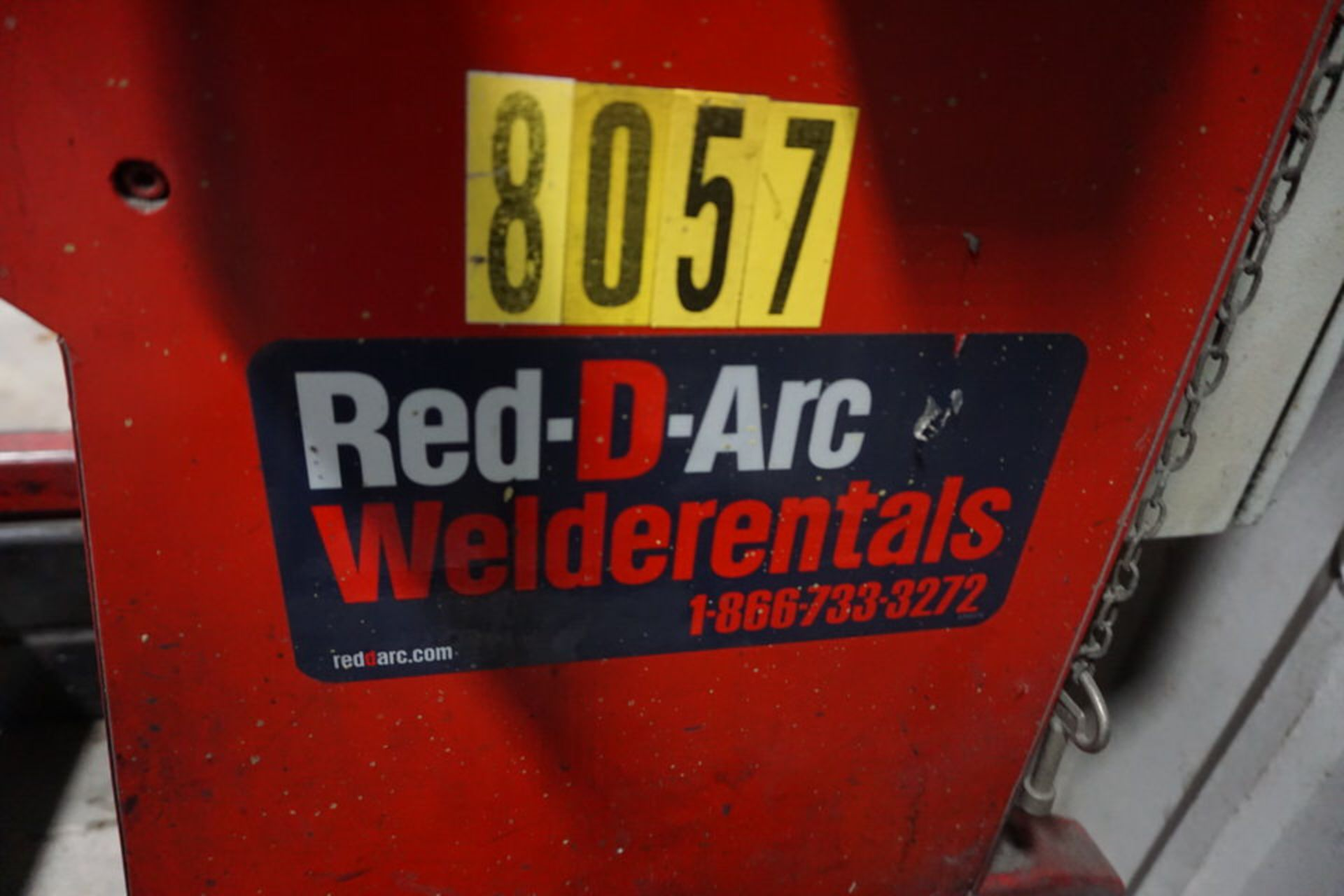 """RED-D-ARC WELDING POSITIONER, MDL: WP-500, 20"""" TABLE - Image 4 of 4"""