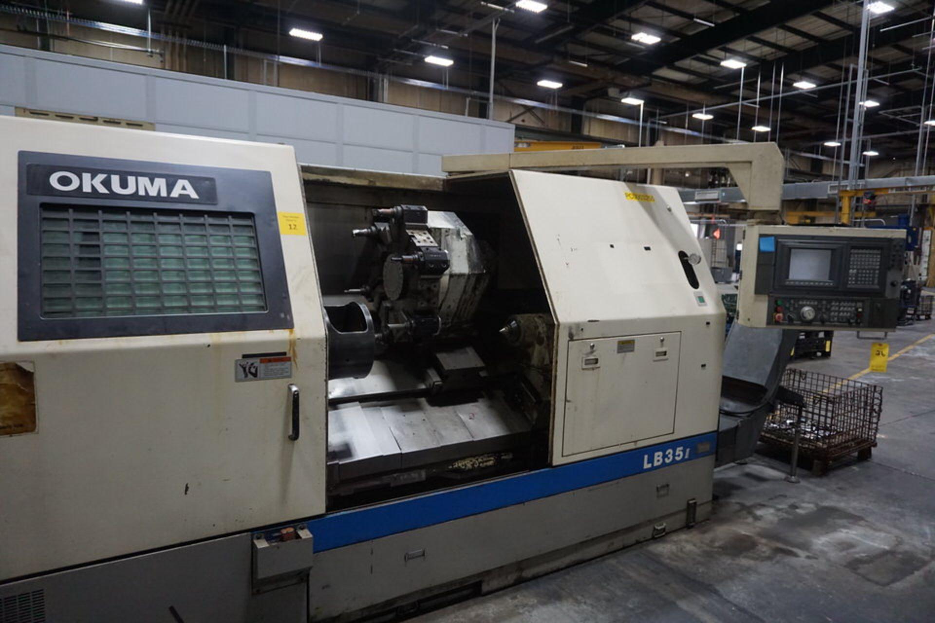OKUMA LB35 CNC LATHE (PC0003255)