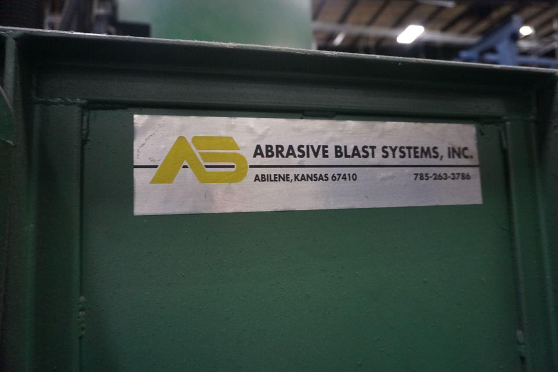 ABRASIVE SHOT PEEN BLAST SYSTEM, MDL: 3N1201 (ASST#:P863109) - Image 2 of 11