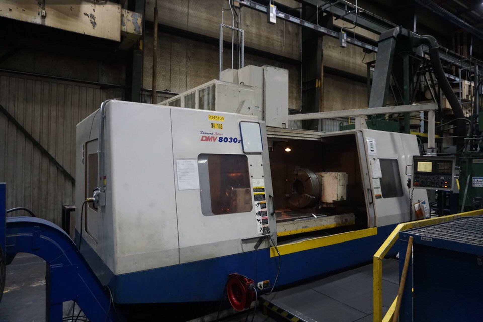 DAEWOO DMV8030S VERTICAL MACHINING CENTER (ASST#:P345105)