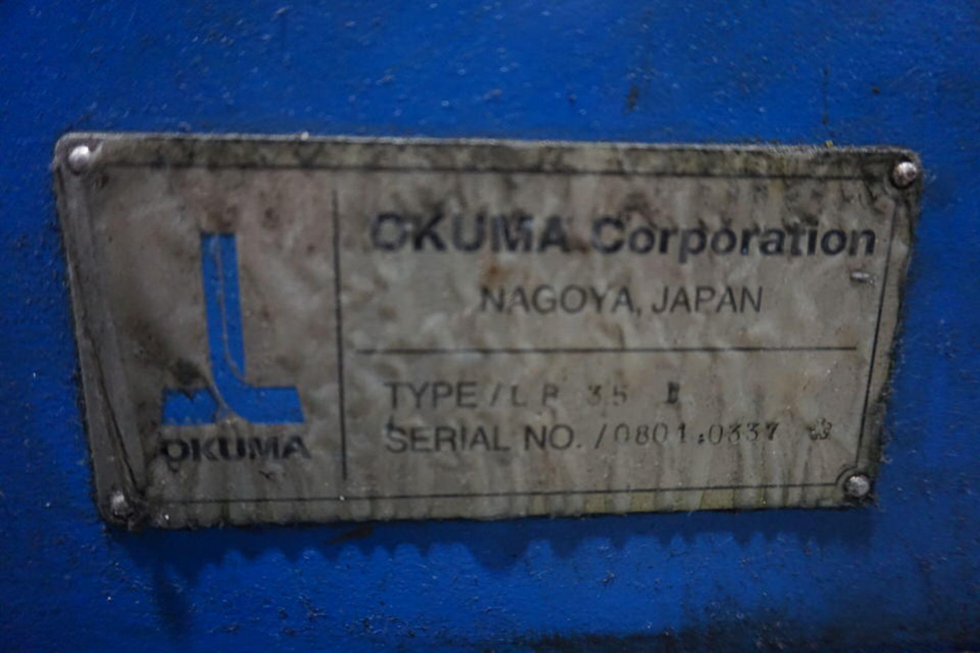 OKUMA LB35 CNC LATHE (PC0003255) - Image 3 of 8