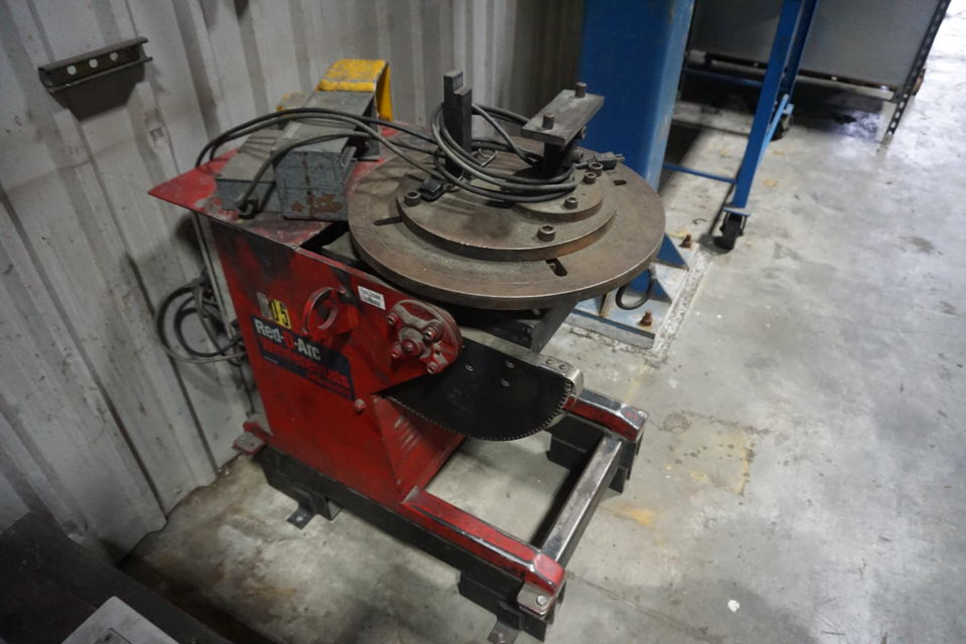 """RED-D-ARC WELDING POSITIONER, MDL: WP-500, 20"""" TABLE - Image 3 of 4"""