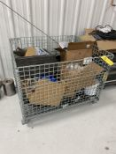 Wire Basket w/ Contents