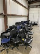 Large quantity of Shop & Executive chairs