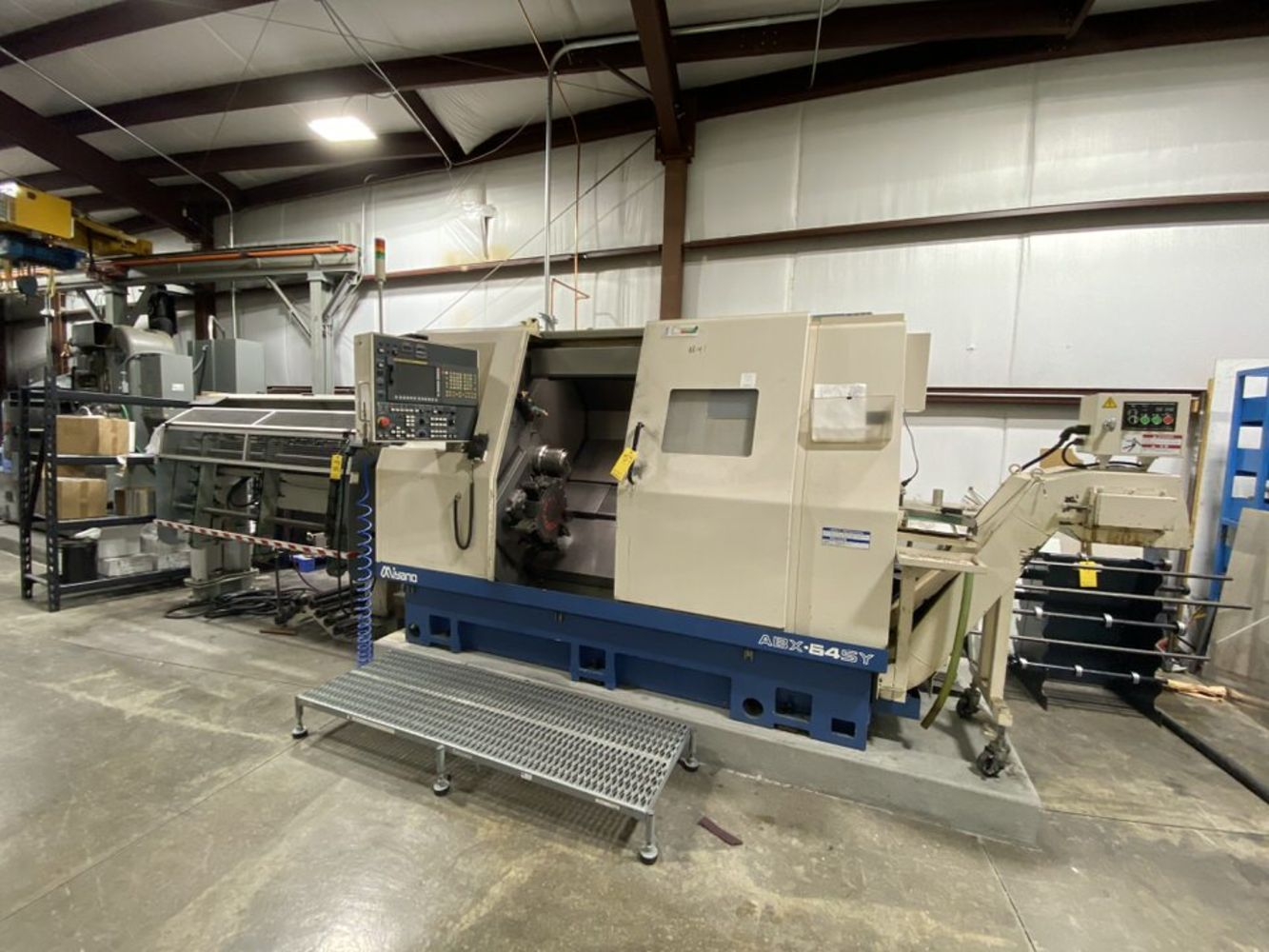 Ultra Clean R&D CNC Machine Shop & Drilling Equipment