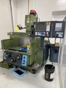 Makino KE55 Mill w/ Kurt Vise S/N KE366