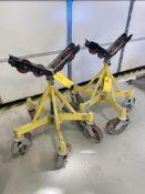 2500 lb capacity Pipe Rollers