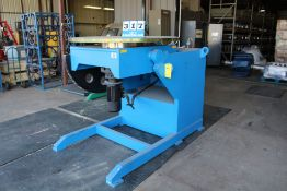 "WELDING POSITIONER, 8,000 LBS CAP, 55"" FACEPLATE"