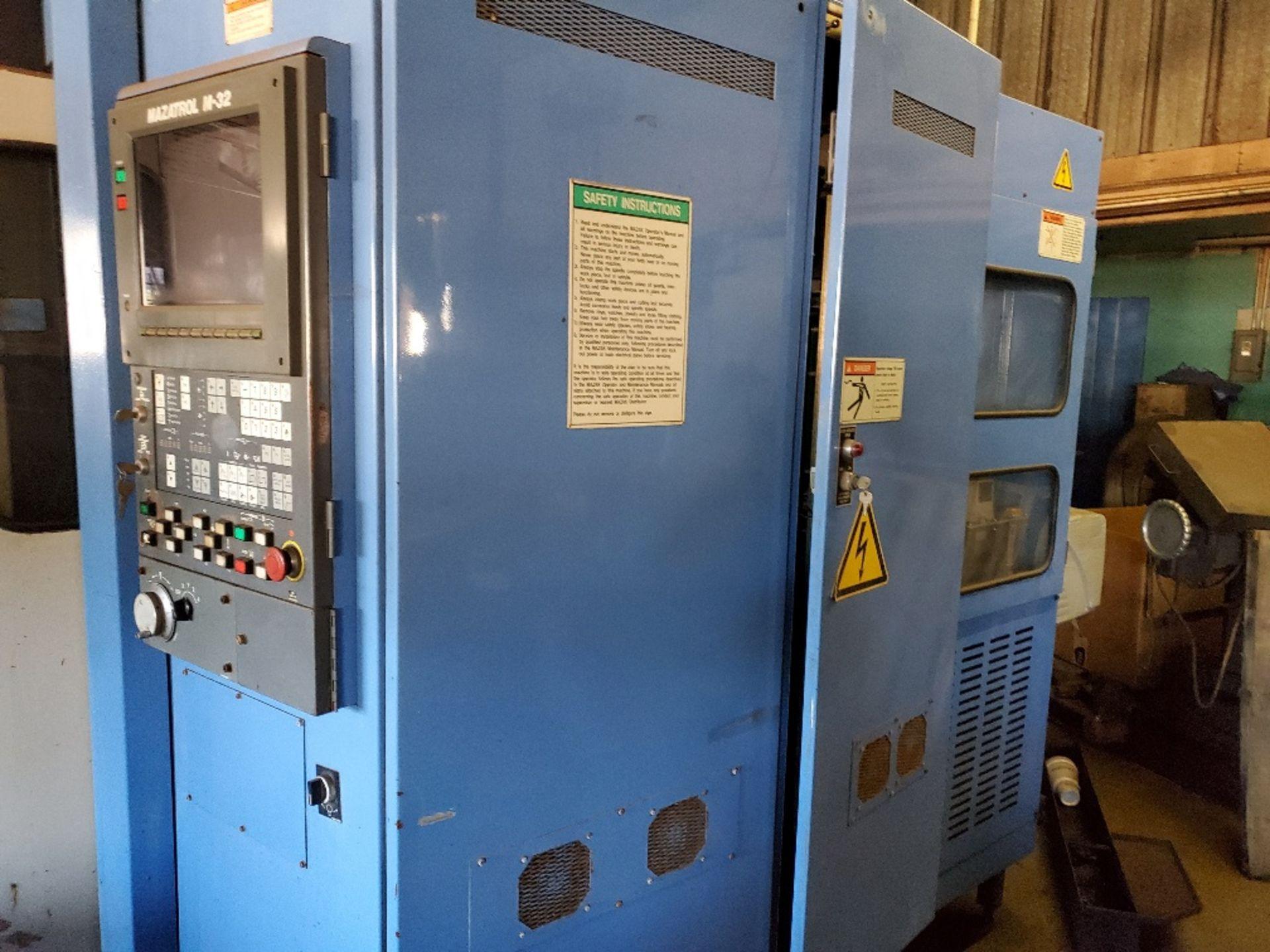 MAZAK AJV 25-405 MACHINING CENTER W/ MAZATROL M-32 CTRL (LOCATION: 5702 W 7TH ST, WAKE VILLLAGE, TX - Image 2 of 3