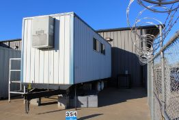 CUSTOM JOB SITE OFFICE TRAILER, FULLY EQUIPPED W/ A/C, PLUMBING, **FURNITURE NOT INCLUDED**