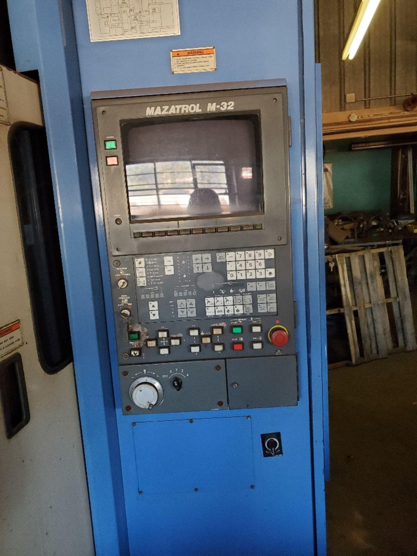 MAZAK AJV 25-405 MACHINING CENTER W/ MAZATROL M-32 CTRL (LOCATION: 5702 W 7TH ST, WAKE VILLLAGE, TX - Image 3 of 3