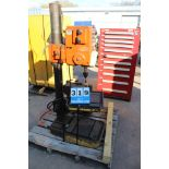 "SWEDEN SE725 DRILL PRESS, 18"" X 18"" TABLE, 12"" THROAT"