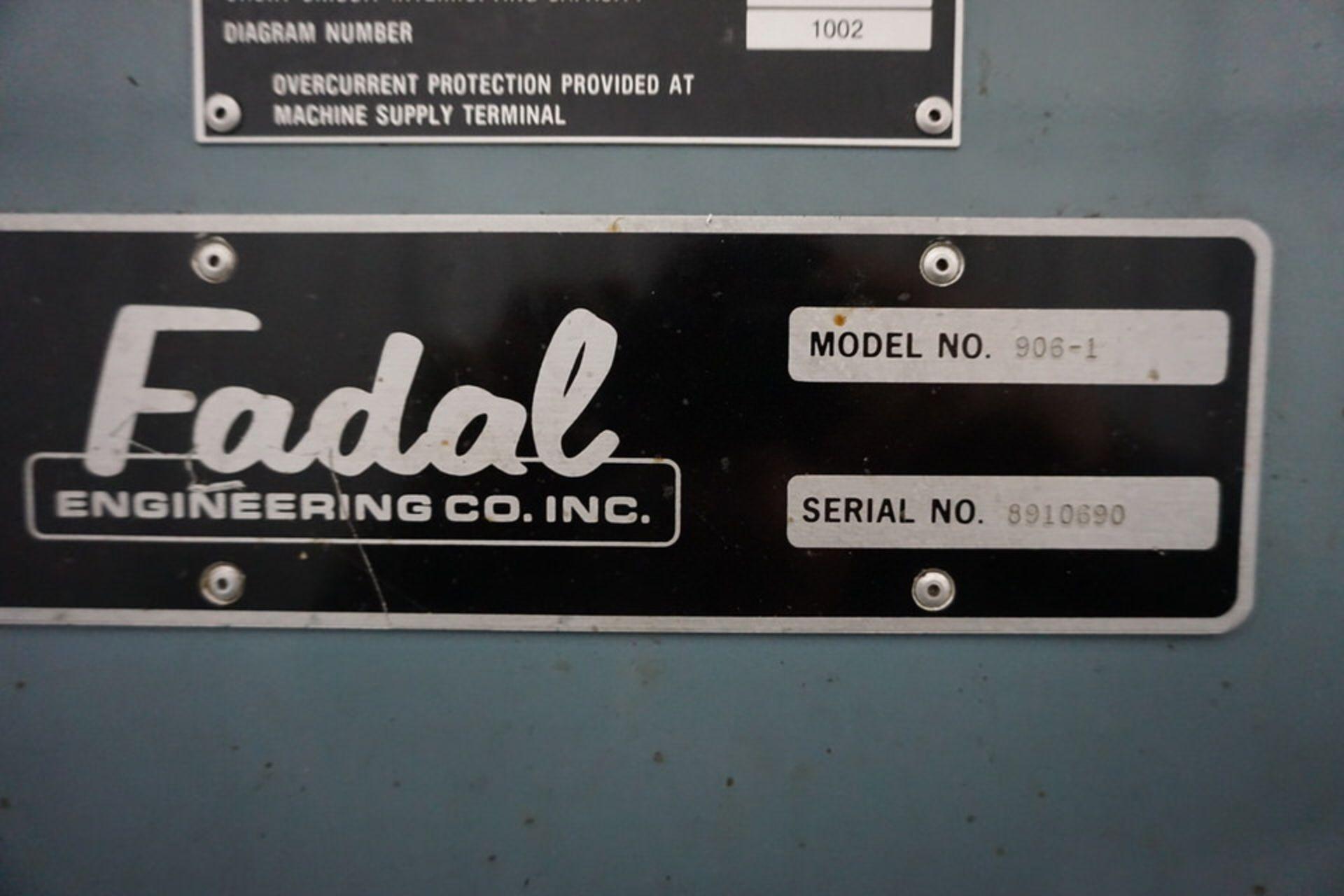 FADAL 4020 VERTICAL MACHINING CENTER W/ FADAL CNC 88 CONTROL - Image 7 of 8
