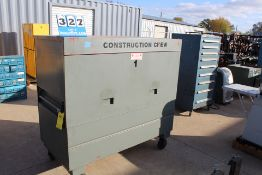 "CONSTRUCTION CREW JOB BOX, 4'H X 5'W X 30""D"