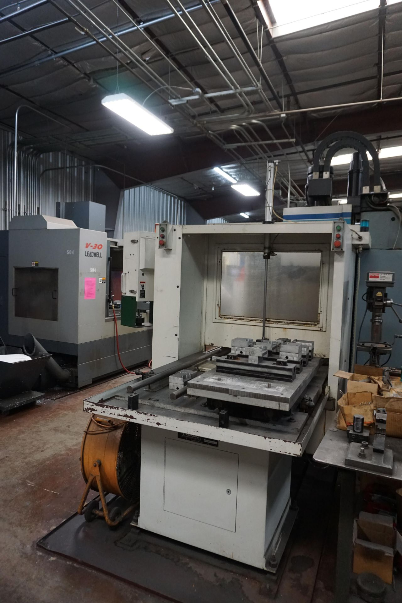 FADAL VMC4020 VERTICAL MACHINING CENTER - Image 10 of 11